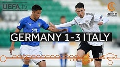 Group stage highlights: Germany 1 – 3 Italy