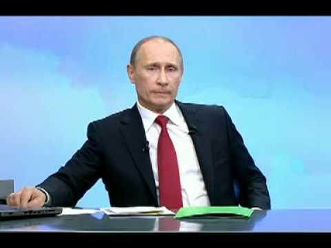 В.Путин.Разговор с В.Путиным. Продолжение.10.12.10.Part 4