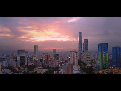 Centro de Bogotá, Colombia Mavic Pro drone