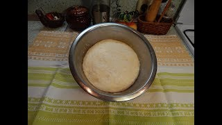 Как приготовить тесто для беляшей. Dough for pies with meat