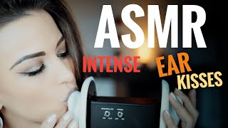 ASMR Gina Carla 💋 Intense Ear Kissing! CloseUp! Soft and Gentle!