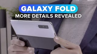 Samsung reveals more about the Galaxy Fold