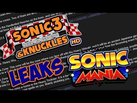 Sonic Mania | PC Game Delay & Level Leaks - SPOILER WARNING! |