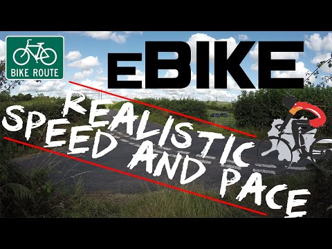 Electric Bike (eBike) Cycling Performance Test - Speed And Pace (1500w 48v 16AH)