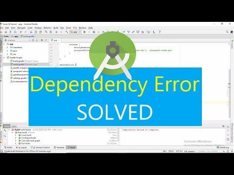 Android Studio Dependency Mismatch Error Solution
