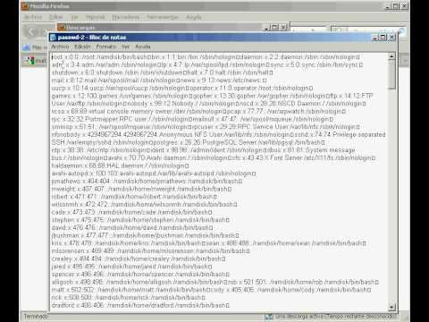 Hacking etc/passwd