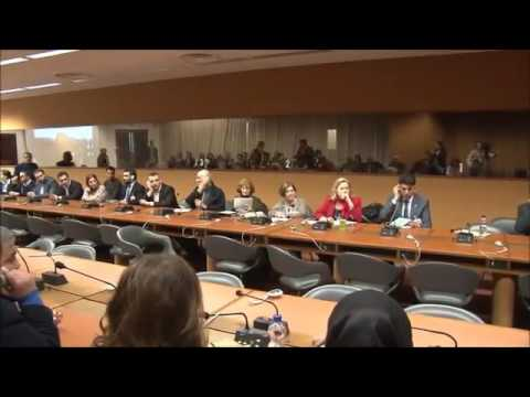 Side Event on the Human Rights Situation in Iraq   10 March 2016 United Nations, Geneva Part 1 of 3