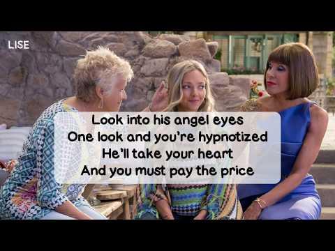 Mamma Mia! Here We Go Again - Angel Eyes (Lyrics Video)