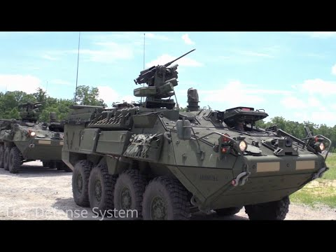This Is The Superiority Of The Stryker Land Vehicle Compared To Its Other Land Vehicles