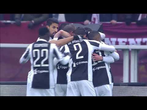Il gol di Alex Sandro - Torino - Juventus 1-0 - Giornata 25 - Serie A TIM 2017/18
