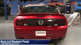 Mustang Deck Lid Blackout Panel (05-09 All) Review