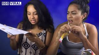 People from Hawaii try Foreign Snacks (French SnackCrate unboxing)
