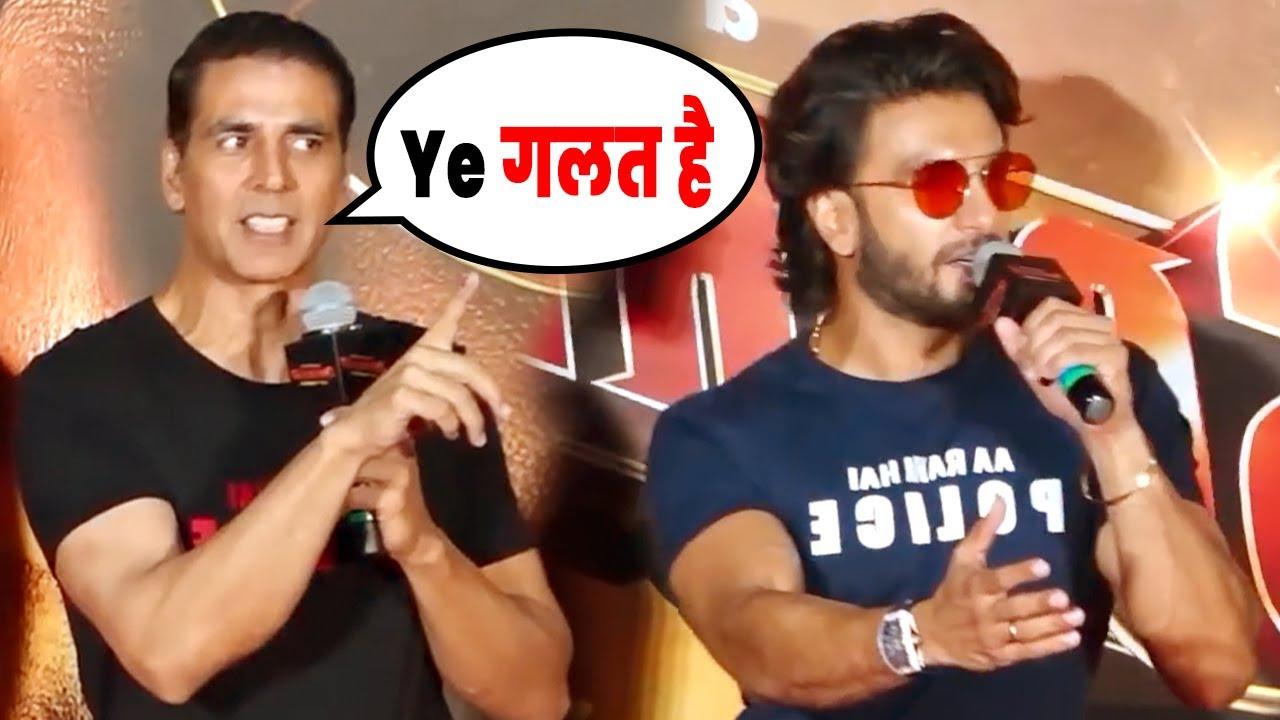 Download Akshay Kumar ANGRY On Media for INSULTING Ranveer Singh