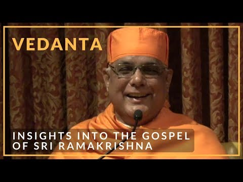 Insights into the Gospel of Sri Ramakrishna by Swami Atmapriyananda