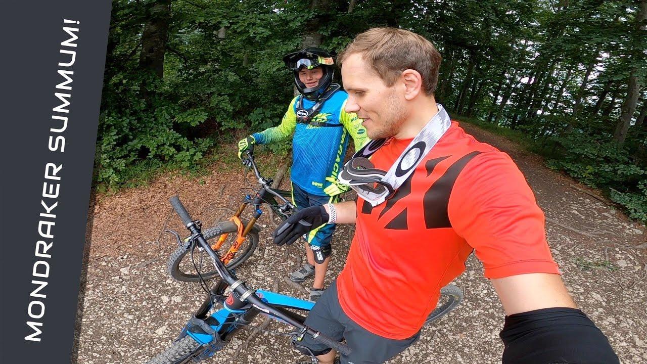 Er hat mir sein Downhill Bike geliehen! 😱😍
