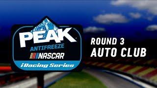 NASCAR PEAK Antifreeze iRacing Series | Round 3 at Auto Club thumbnail