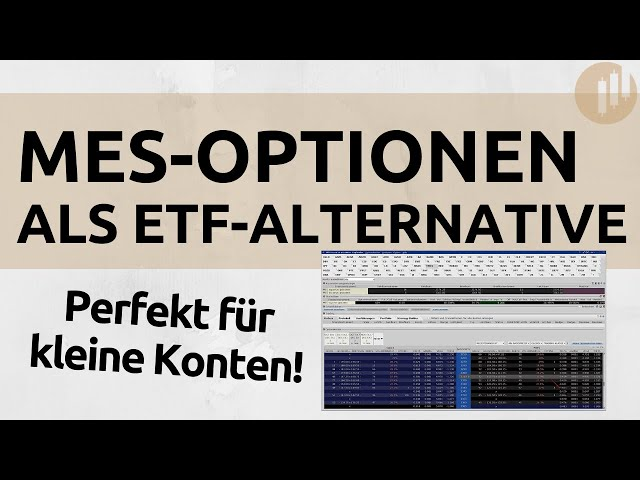 Perfekt für kleine Konten - MES-Optionen nun zum Handel verfügbar | Micro E-mini Optionen