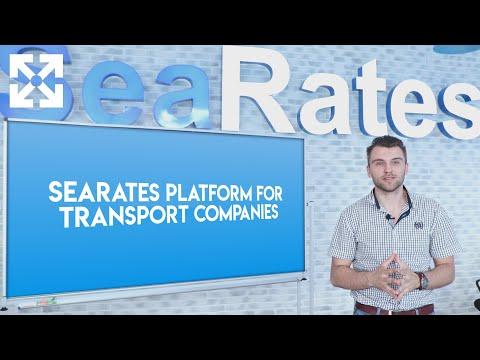 SeaRates Platform for Transport Companies