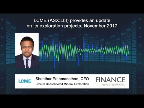 Lithium Consolidated Mineral Exploration (ASX:LI3) update on projects