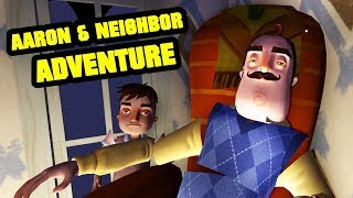 AARON & NEIGHBOR UNTOLD ADVENTURE - HELLO NEIGHBOR MULTIPLAYER Roblox