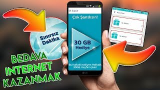 Türk Telekom 30 GB HEDİYE İNTERNET Nasıl ÜCRETSİZ Alınır ? - (Sil Süpür)