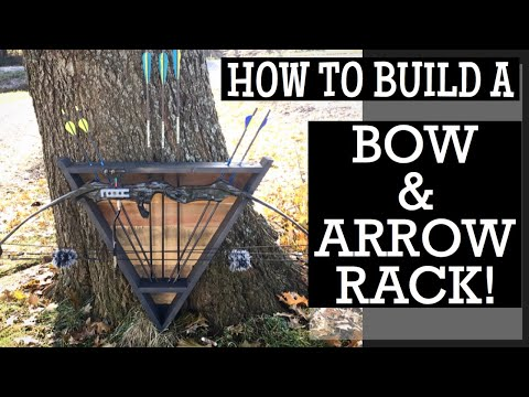 How to Build a Bow and Arrow Rack || Archery Display