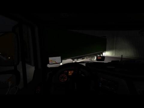 [ETS] Pirmasis stream'as, važiuojam į garažą ! [TAURUS Transport]