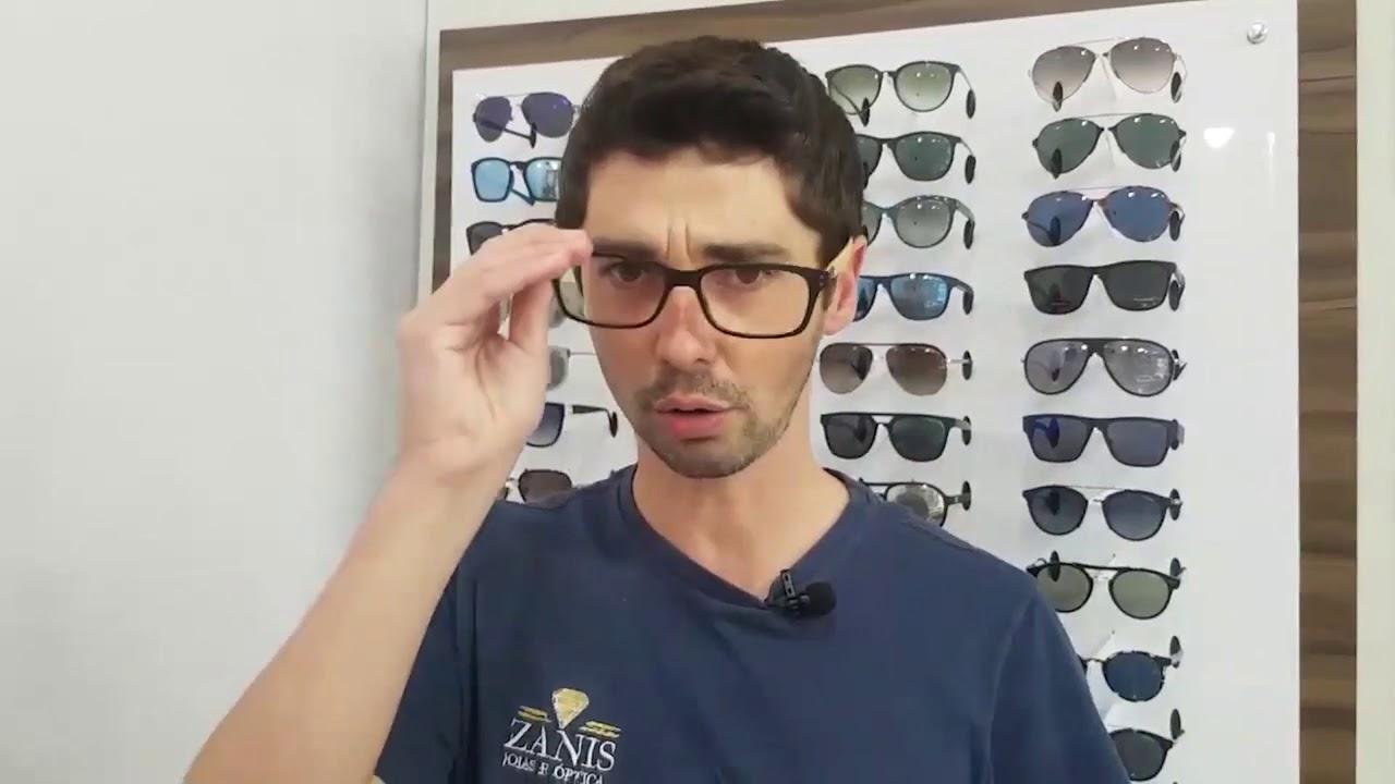 Óculos com proteção da luz azul dos aparelhos eletrônicos - YouTube 0366ad377e