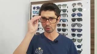 Óculos com proteção da luz azul dos aparelhos eletrônicos