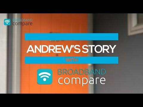 Broadband Compare Andrew's Testimonial