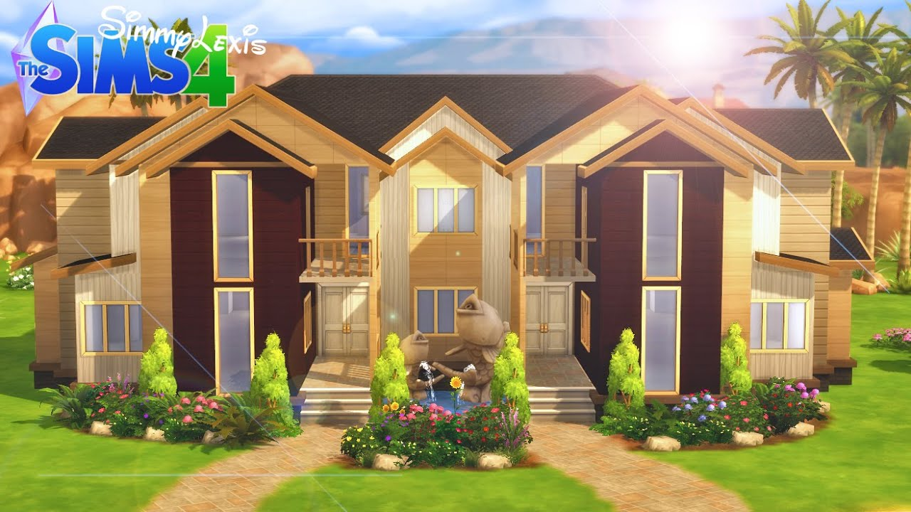 The sims 4 house building reflection luxury condos for Build your house