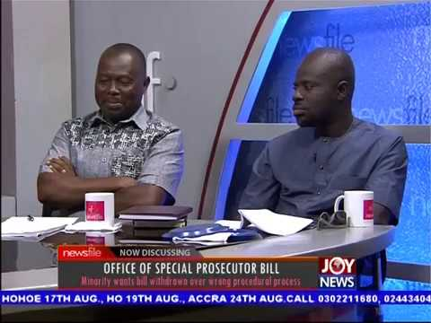 Office of Special Prosecutor Bill - Newsfile on JoyNews (22-7-17)
