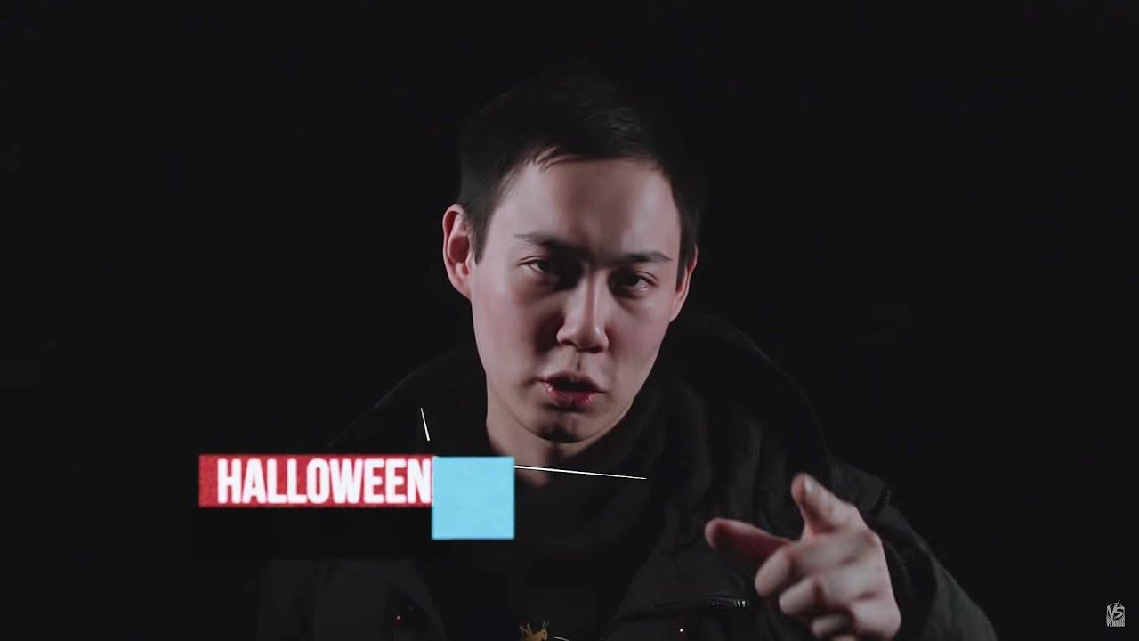 Пьяный Halloween полуфристайлом трахнул Конфуза на Versus Freshblood. Круть. Он жесть