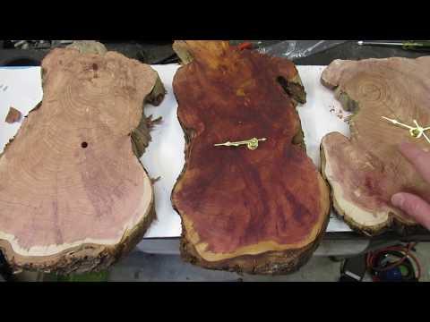 How to make a custom wood clock