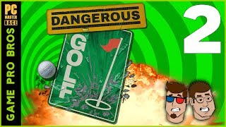 Dangerous Golf - Vegan Trapped in an ATM - PART 2 - Game Pro Bros
