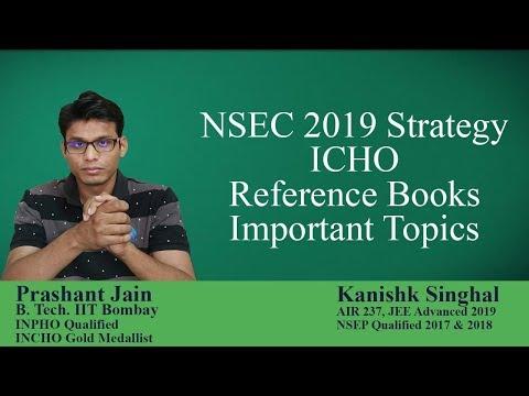 NSEC 2019 Strategy   ICHO   Prashant Jain a.k.a PSY Sir   Kanishk Singhal