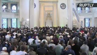 Праздник Курбан-байрам в Москве