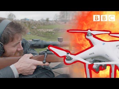 Sniper vs Drone! - BBC