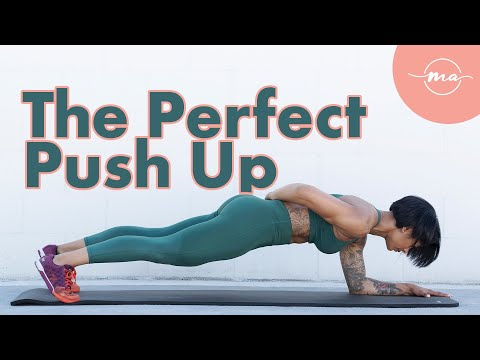 STOP DOING GIRL PUSH UPS AND DO THEM RIGHT (THE PERFECT PROGRESSION FOR WOMEN AND BEGINNERS).