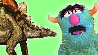 Dinosaurs for Kids – Fossils for Kids – Stegosaurus