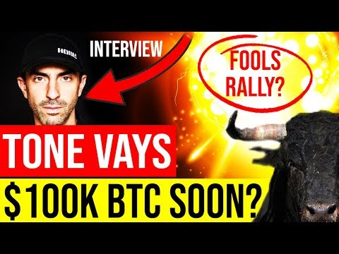 😱TONE VAYS - When BITCOIN $100K? Rally sustainable? Get in NOW or WAIT?