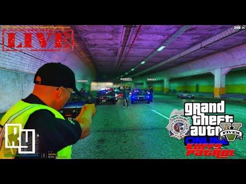 LIVE: GTA 5 LSPDFR FiveM/vRP Police Roleplay Patrol