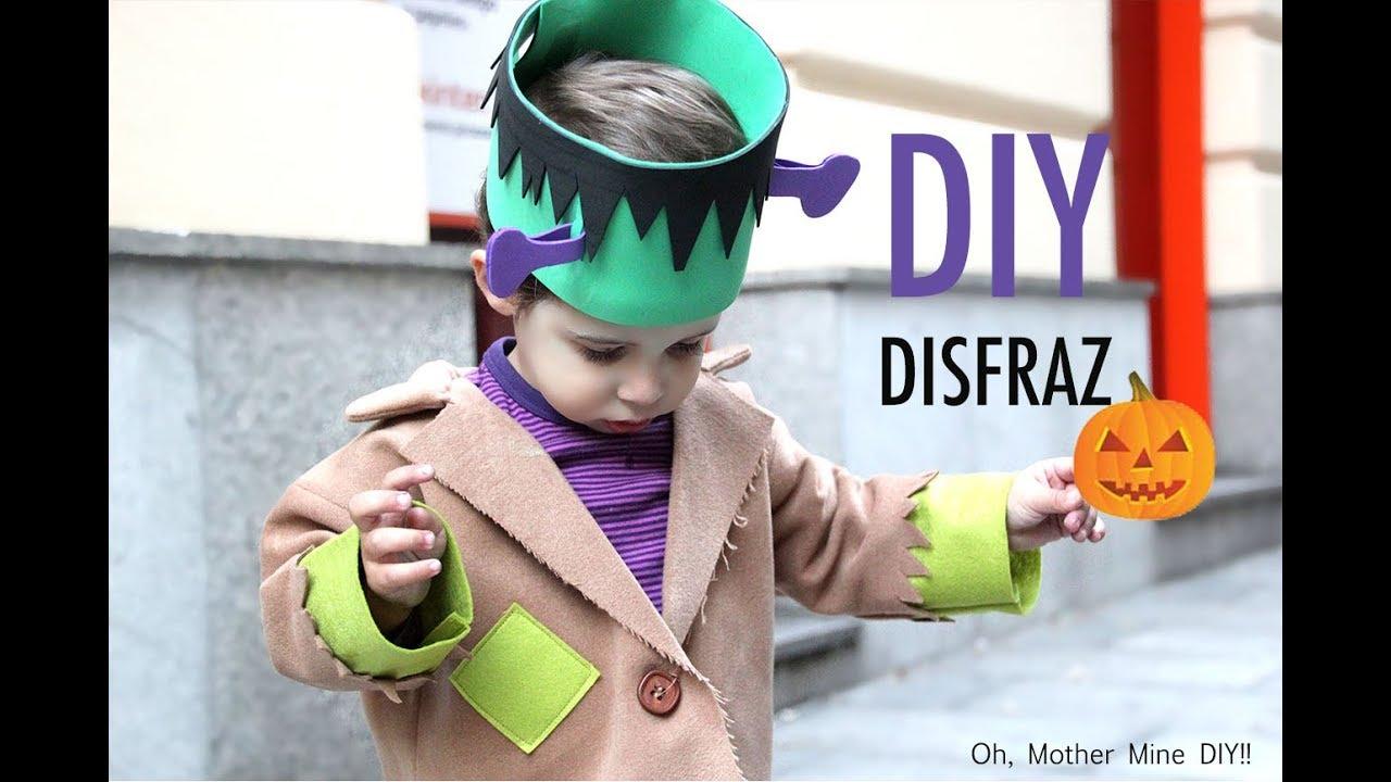Diy Disfraz Casero Para Niños Frankenstein Muy Fácil