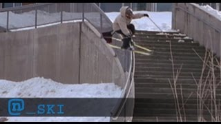 """See Skier Simon Dumont In The Poor Boyz Productions Classic """"Ready, Fire, Aim"""""""