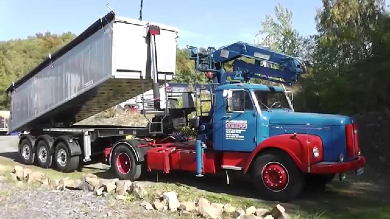 Alter Scania 110 Langhauber LKW in HD  YouTube