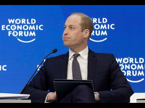 Prince William addresses mental health at the World Economic Forum - 5 News