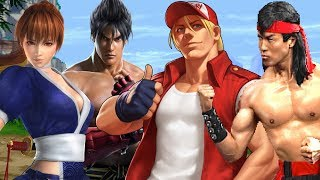 Top Ten Fighting Game Protagonists [Revisited]