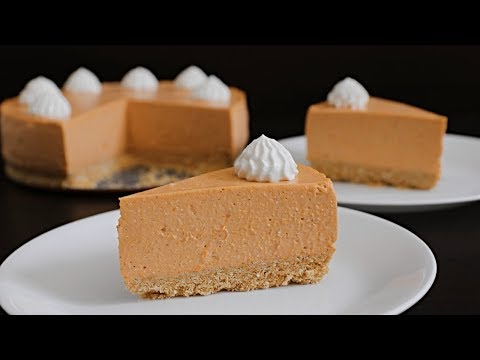 No-Bake Pumpkin Cheesecake Recipe