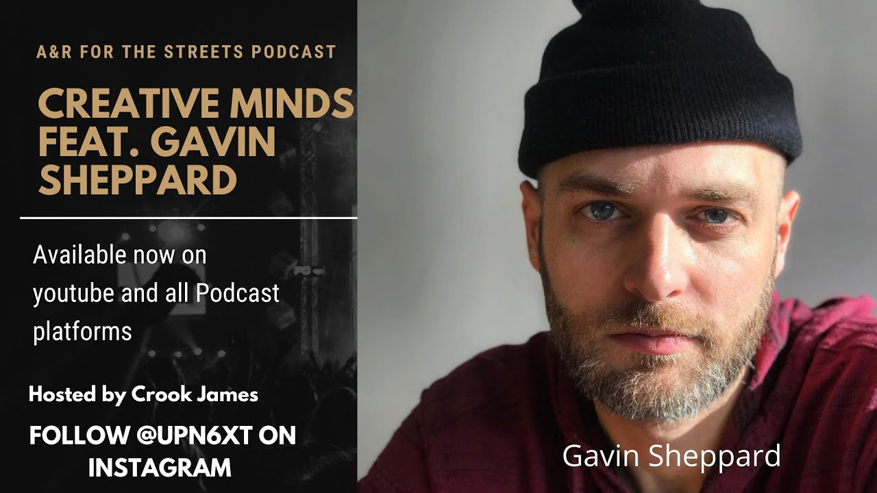 Creative Minds Feat. Gavin Sheppard. Co-Founder of The Remix Project.