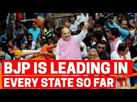 Lok Sabha Elections Result 2019: BJP Is Leading In U.P, Bihar, M.P, Delhi And Rajasthan